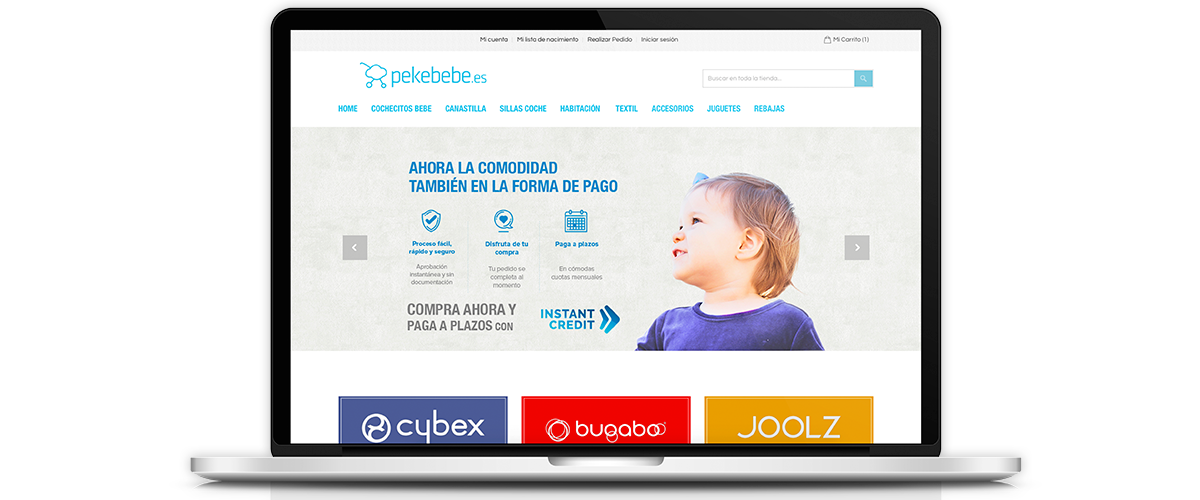 Website pekebebe.es