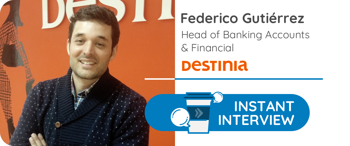F.G, Head of Banking Accounts & Financial de una agencia de viajes online