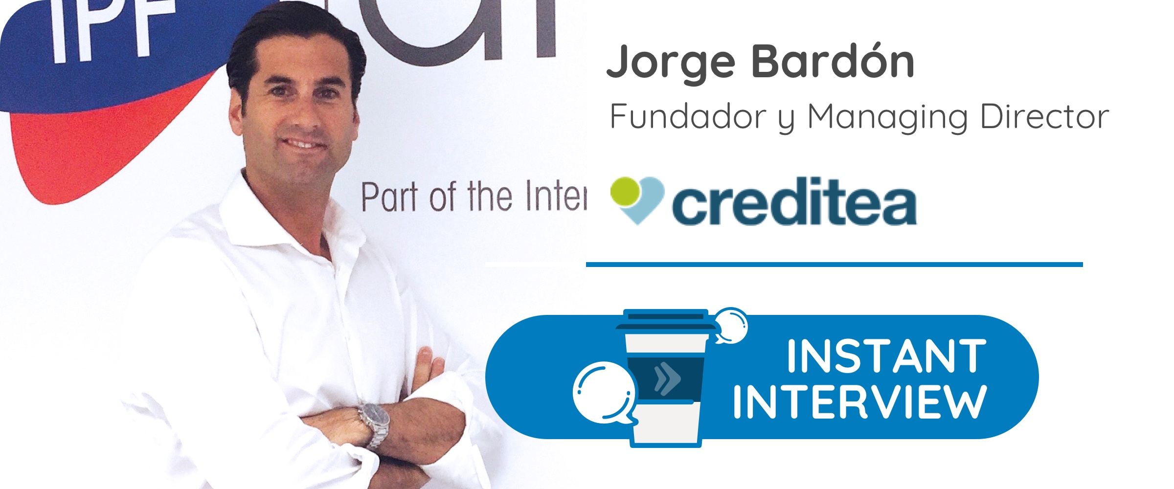 J.B, Fundador y Managing Director en la financiera Creditea