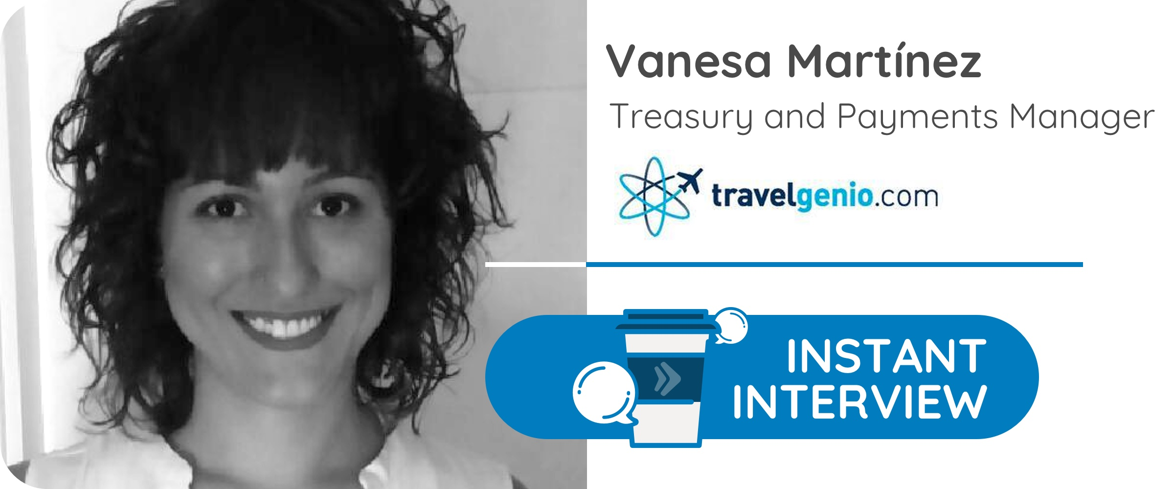 V.M, Treasury and Payments Manager de la agencia de viajes Travelgenio